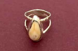 Elk Ivory Spring Ring - Distinctly Montana - 2