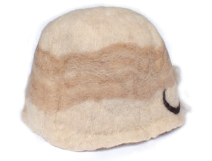 Cloche Flower Alpaca Wool Hat SOLD OUT