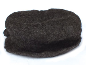Brimmed Alpaca Wool Hat, Felted
