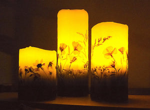 Wildflower Flameless Candles
