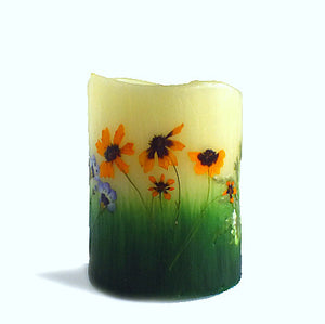 Sunflower Flameless Candle
