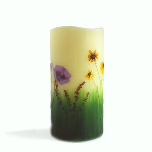 Montana Wildflower Flameless Candle