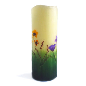 Montana Wildflower Flameless Candles with Timer (Size Choices)