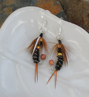 Fly Fishing Earrings