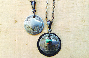 Plains Buffalo Montana Necklace Duo