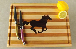 Wild Horse Hardwood Cutting Board