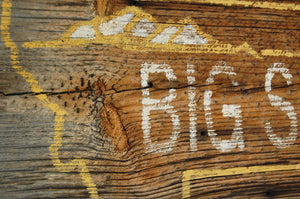 Big Sky Rustic Barnwood Montana Sign - Distinctly Montana - 4