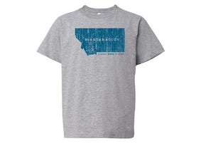 Youth MontanaTude Smile T-Shirt (Color Choices)