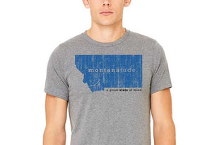 MontanaTude Smile Men's Tee