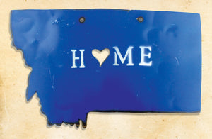 Montana Home Metal Art