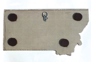 Montana Trivet/Wall Art, Back