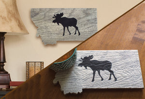 Montana Wildlife Ceramic Wall Art