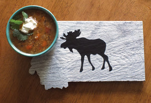 Montana Wildlife Trivet, Ceramic
