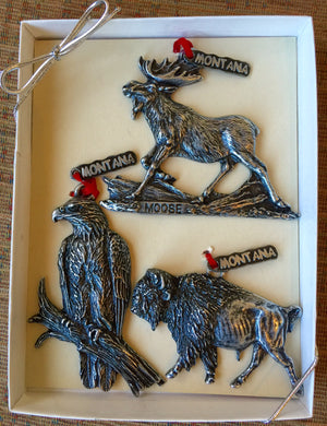 Montana Wildlife Heritage Ornaments