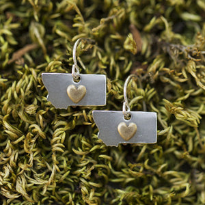 Montana Heart Earrings