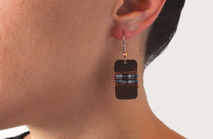 Flathead Copper Earrings (Sold Out)