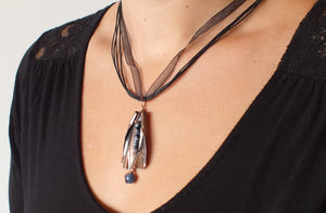 Copper Creek Beaded Montana Necklace