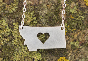 Montana Necklace with Heart
