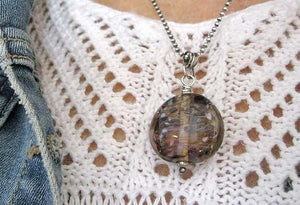 Swirl Pendant, Montana Necklace