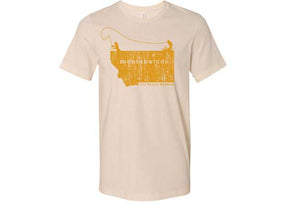 Women's MontanaTude  Angler T-Shirt (Color Choices)