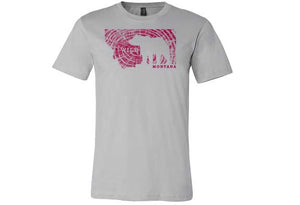 Women's Wild Grizzly Montana T-Shirt