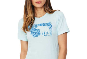 Women's Wild Grizzly Montana T-Shirt (Color Choices)