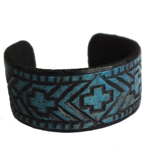 Montana Blue Cuff Bracelet- Montana Jeweley