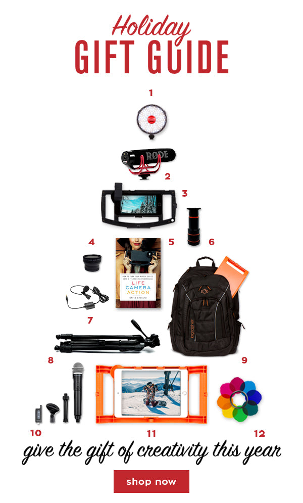 iOgrapher Gift Guide!