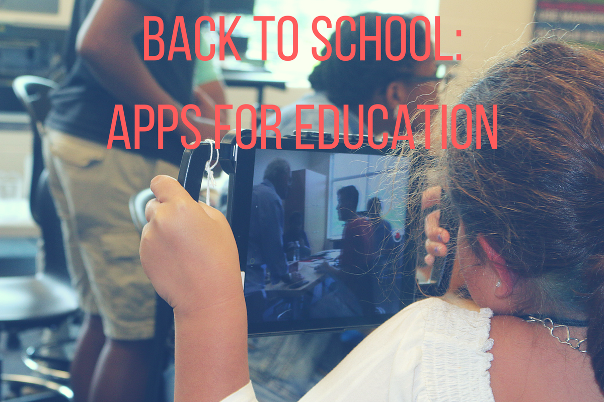 Back to School: Apps for Education
