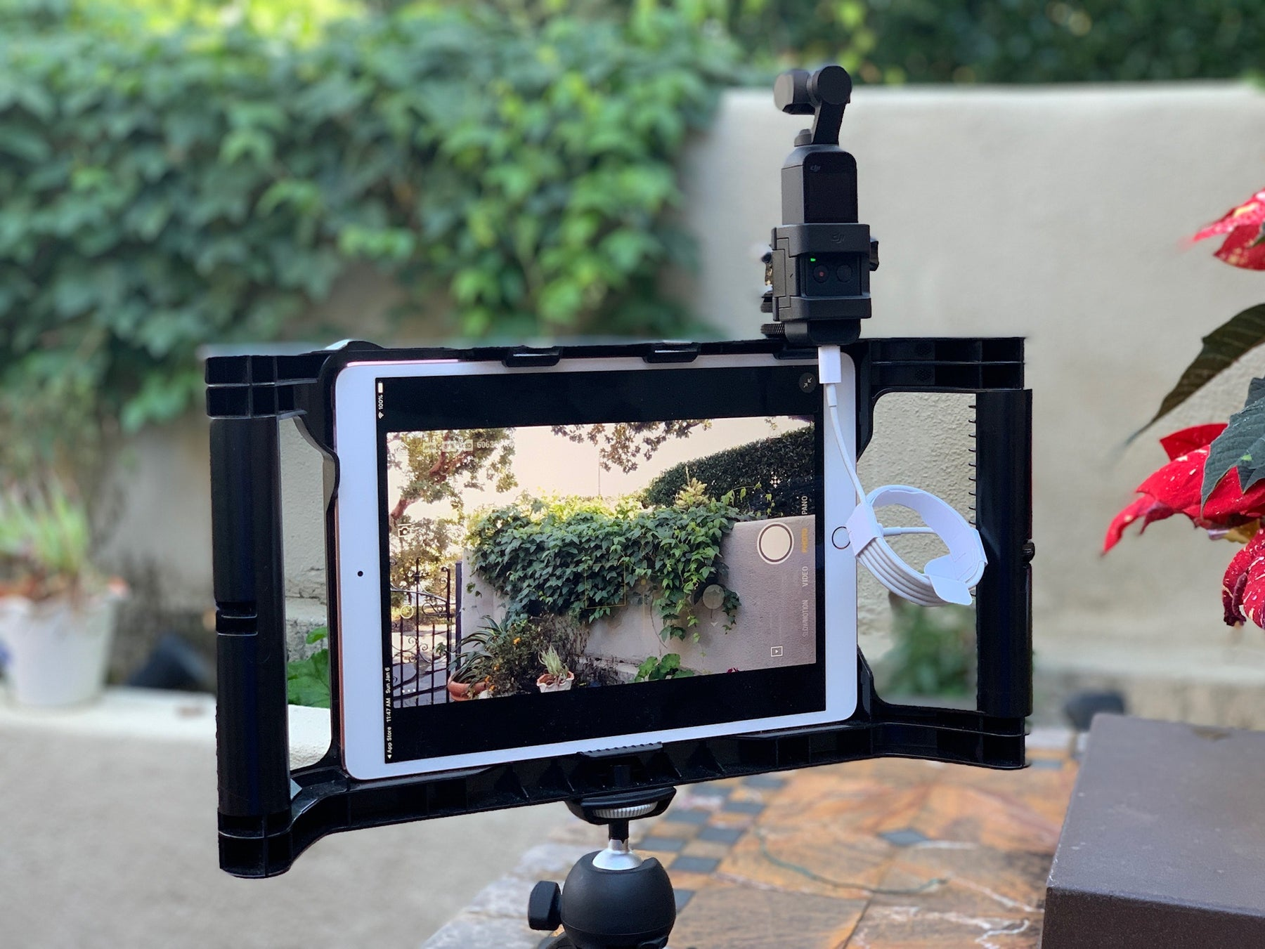 Using the Osmo Pocket with your iOgrapher and iPad/iPhone
