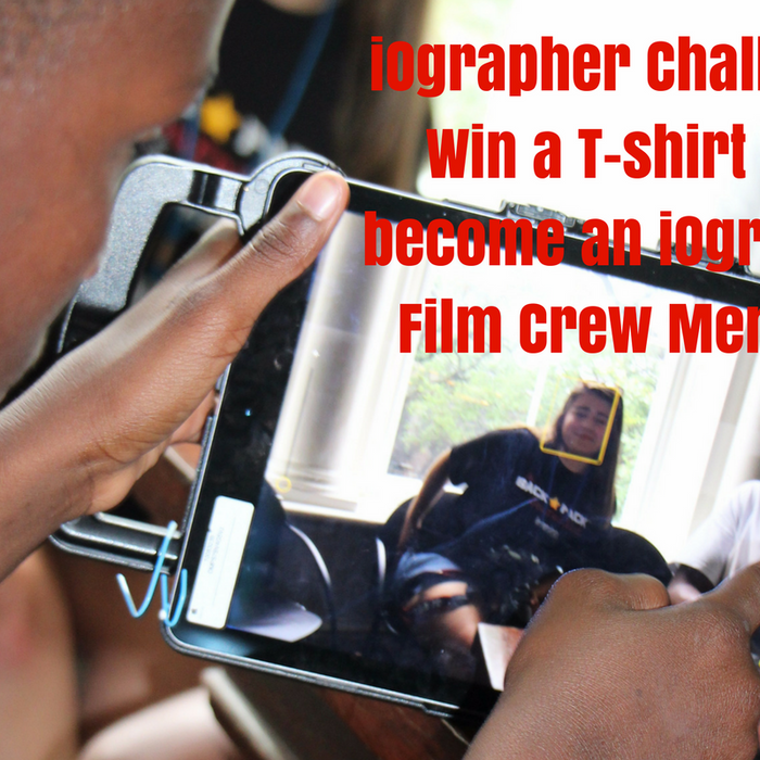 iOgrapher Challenge: Win a T-shirt and become an iOgrapher Film Crew Member