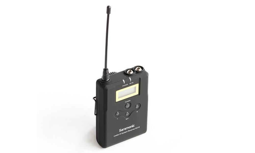 Saramonic UwMic15 (TX15 + RX15) UHF wireless kit