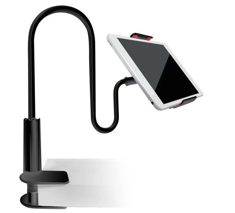 Table Mounted Gooseneck Lazy Bracket for Phones and Tablets