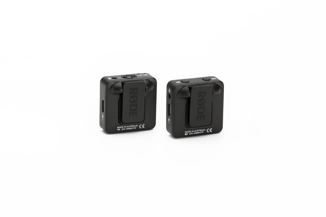 RODE WIRELESS GO - Compact Wireless Transmitter/Receiver Kit