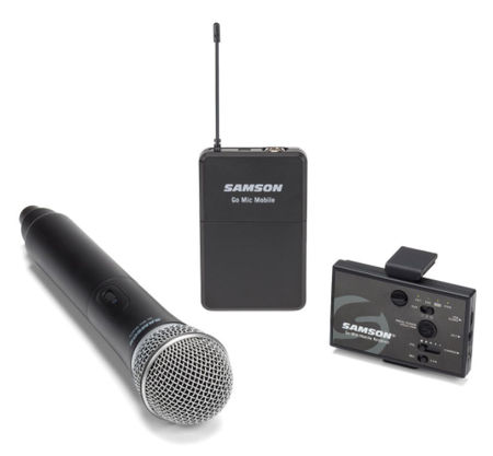 Go Mic Mobile Wireless Handheld System