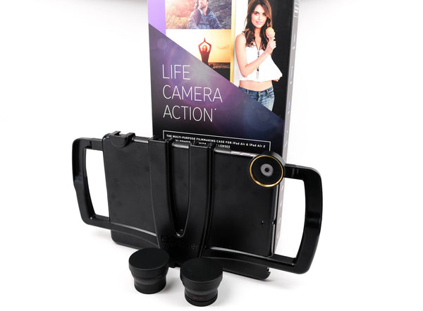 EXCLUSIVE iOgrapher Filmmaking Kit for iPad Mini 2,3 with Lenses