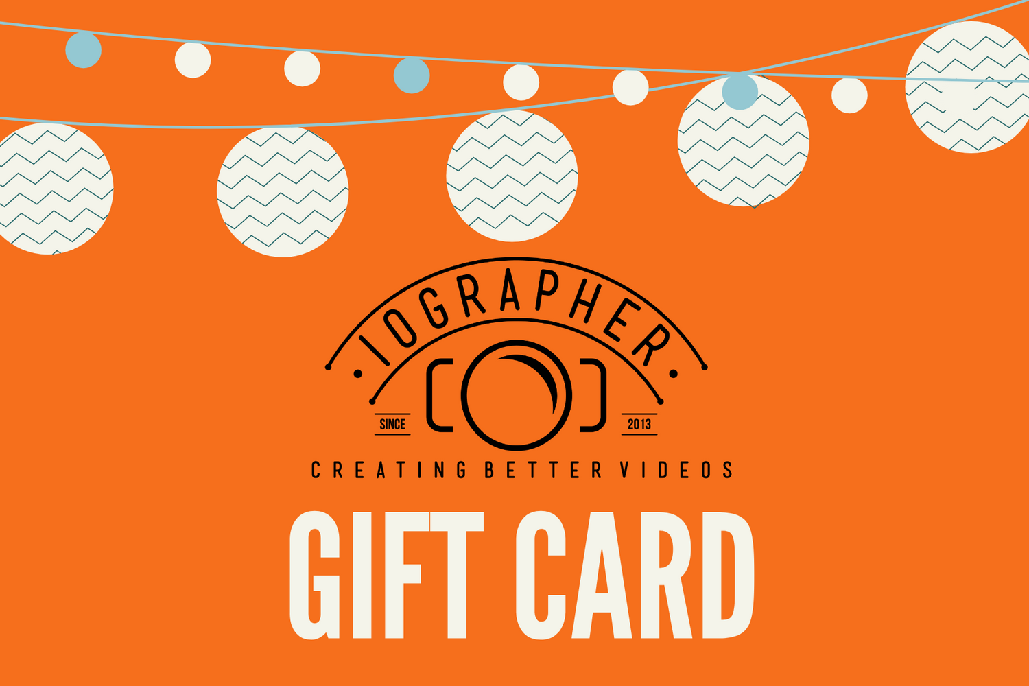 iOgrapher Gift Card