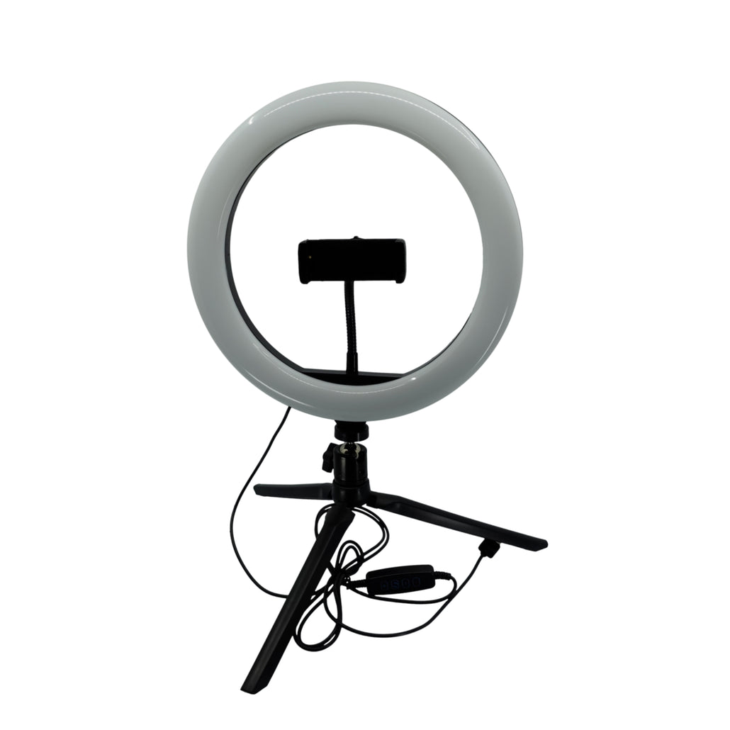 10 Inch Ring Light and Adjustable Light Stand Bundle