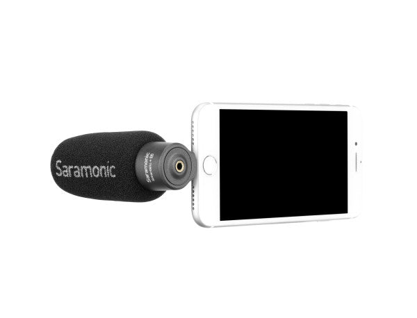 SmartMic+Di Compact Directional Microphone with Lightning Connector for Apple iPhone & iPad