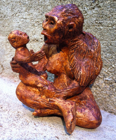 Lucy & Baby Sculpture Limited Edition