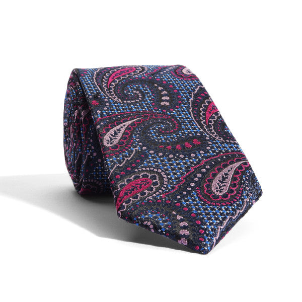 Carnival Paisley Tie