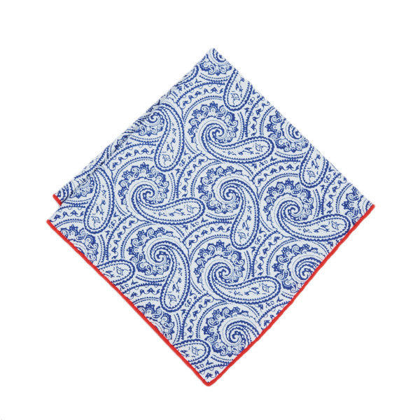 Bandana Paisley Pocket Square