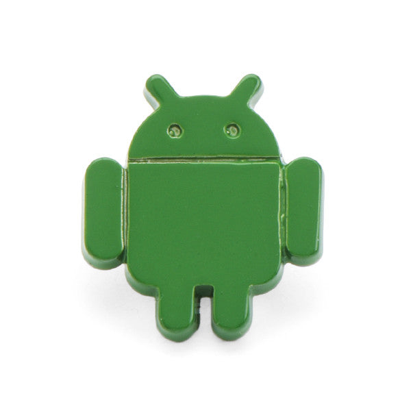 Green Bot Lapel Pin
