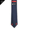 Navy Shield Tie