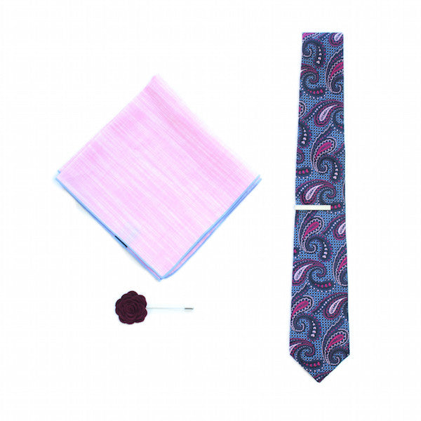 Carnival Paisley Tie Set
