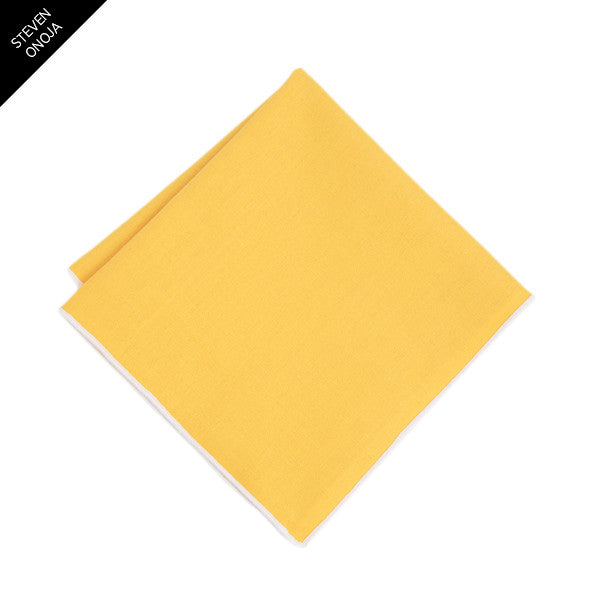 Yellow Statement Pocket Square