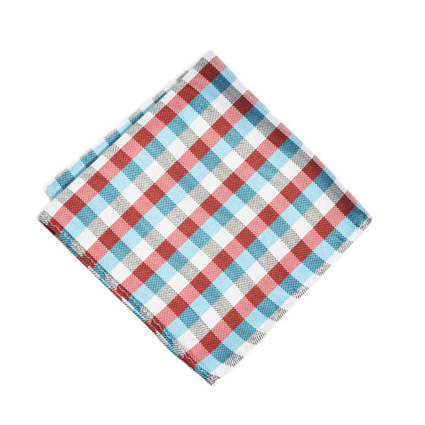 Picnic Table Plaid Pocket Square