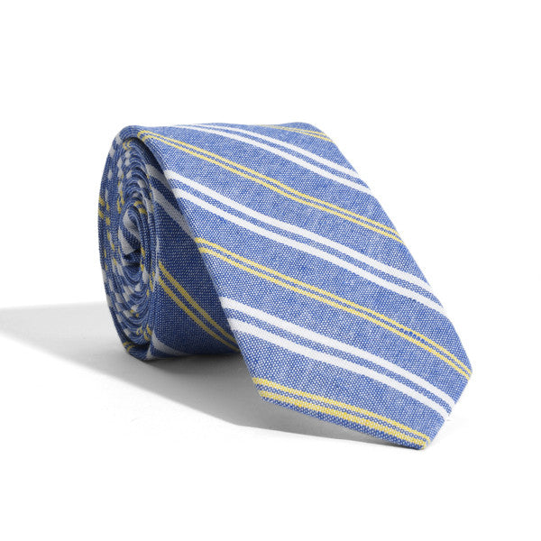Blue Mercer Stripes Tie