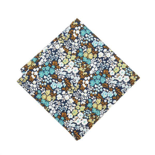Vibrant Floral Pocket Square