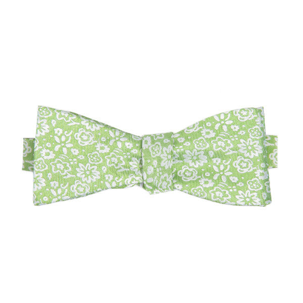 Reversible Green Flora , Bow Tie